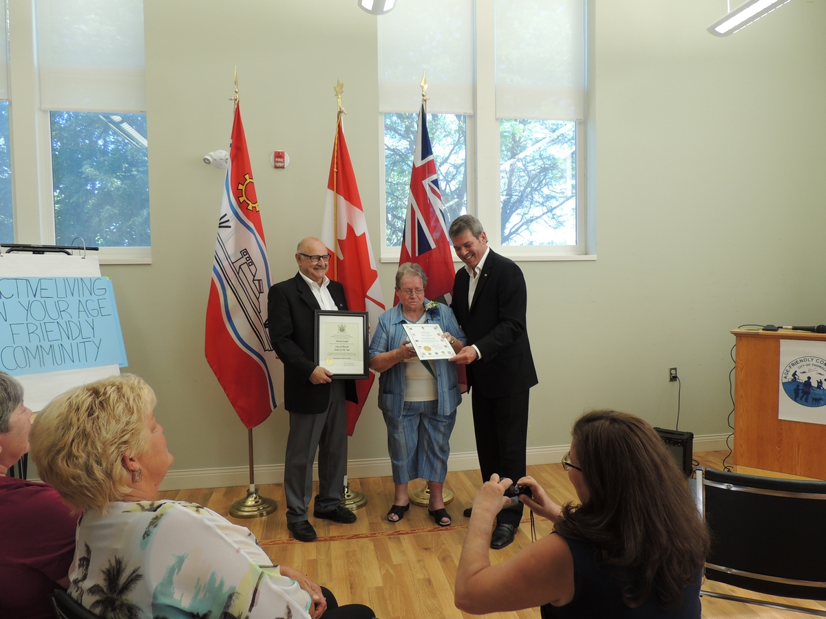 Dedicated volunteer named Thorold's senior of the year