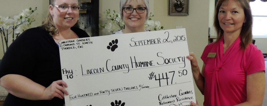 Donation to LCHS